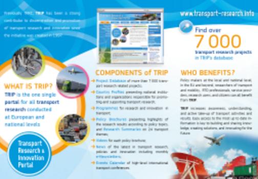 Transport Research Innovation Portal