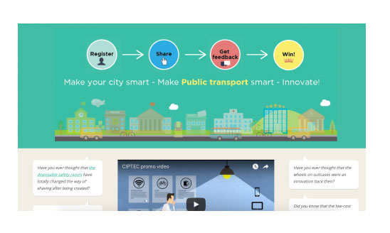 public transport crowdsourcing campaign